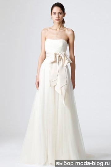 платья от Vera Wang по-прежнему свадебные