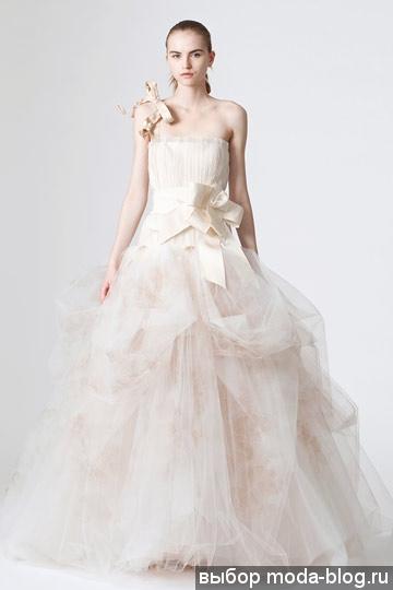 Свадебные платья от vera wang на фото